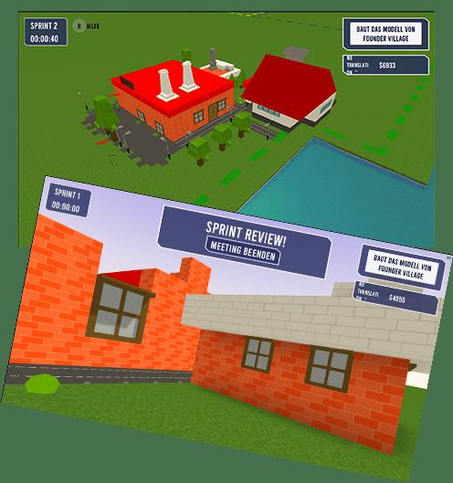 Online Scrum Simulation PlayAgile Kundenbilder